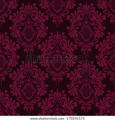 Damask royal luxury seamless vector