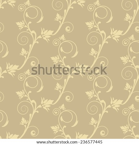 Damask seamless pattern for your design. Vector illustration for design of gift packs, wrap,  patterns fabric, wallpaper, web sites and other. - stock vector