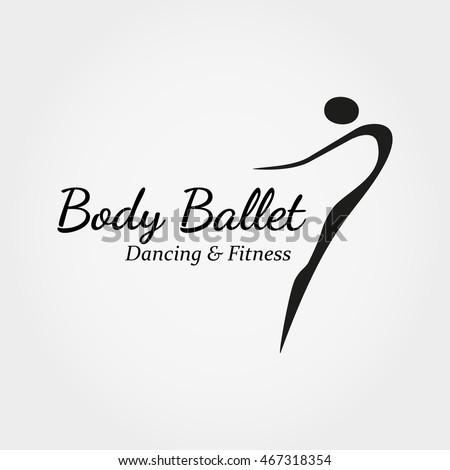 Dance Icon Concept Ballet Studio Logo Stock Vector 467318354 ...