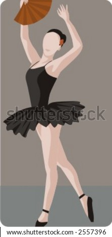 Dance Illustrations Series. Check my portfolio for much more of this series as well as thousands of similar and other great vector items. - stock vector