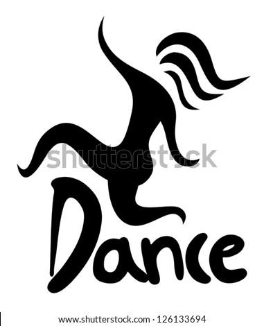 Dance Symbol Stock Vector Royalty Free 126133694 Shutterstock