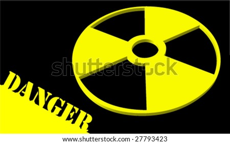 Danger and radioactivite a vector