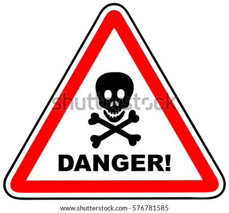 Danger Signs Stock Images, Royalty-Free Images & Vectors ...