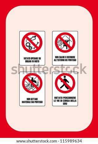 Danger Sign May Not Work On Stock Vector 115989634 - Shutterstock