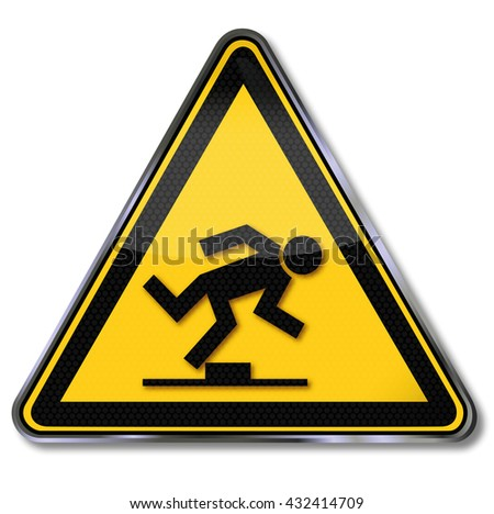 Danger tripping hazard