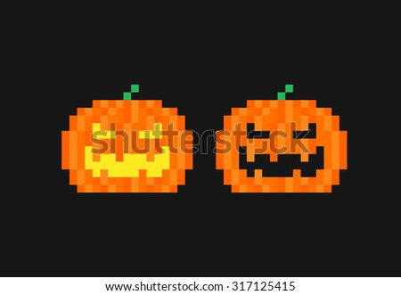 Seamless Background Halloween Pattern Stock Vector 317125370