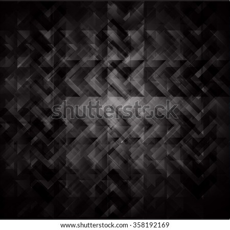 Dark black Abstract light lamps background for Technology computer graphic website internet, Screen on stage.Vector illustration.Spot Effect. neon.point, platform, Spotlights. pixel - stock vector