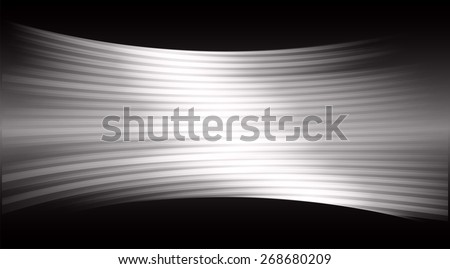 Dark black color Light Abstract Technology background for computer graphic website internet and business. movie screen. scene, episode. cinema. projector - stock vector