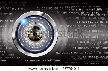 dark black color Light Abstract Technology background for computer graphic website internet and business. circuit. vector illustration. info graphics. wave. beam. ray. Spark. eye eyeball