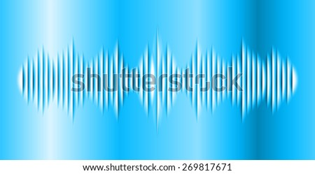 dark blue abstract digital sound wave background. Light Technology background for computer graphic website internet.