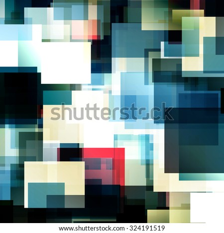 Dark blue bright triangle polygon background Vector frame. Abstract Geometrical Backdrop. Geometric design for business presentations, web template banner flyer. monochrome. Illustration pattern eps10 - stock vector