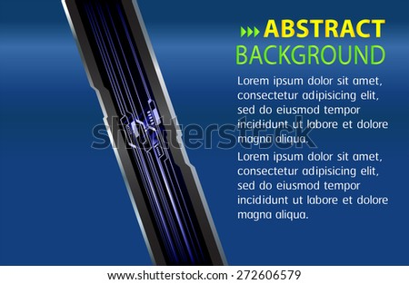 dark blue color Light Abstract Technology background computer graphic website internet and business. circuit. vector illustration. text box. Brochure. card. banner flyer magazine. Design label. - stock vector