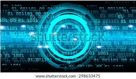 dark blue color Light Abstract Technology background for computer graphic website internet and business. circuit. illustration.digital.infographics. binary code. www.vector.motion move blur. - stock vector