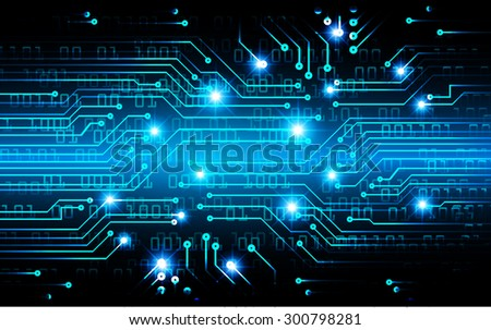 dark blue color Light Abstract Technology background for computer graphic website internet and business. circuit. illustration. infographics. binary code.www.vector.motion move blur.eye.one zero