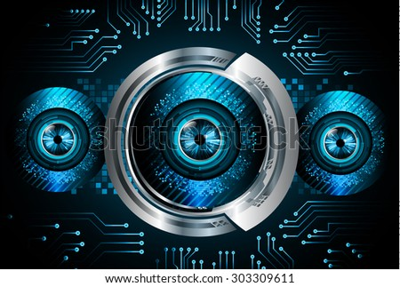 dark blue color Light Abstract Technology background for computer graphic website internet and business. circuit. illustration.digital.infographics. binary code. www.vector.motion move blur. eye