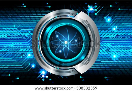 dark blue color Light Abstract Technology background for computer graphic website internet and business. circuit. vector illustration. silver. infographics. molecule atom electron neutron nuclear.