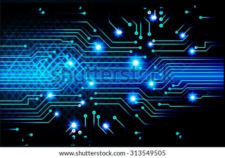 dark blue color Light Abstract Technology background for computer graphic website internet and business. circuit. illustration. infographics. binary code background. www.vector.Spark.zero one. pixel - stock vector