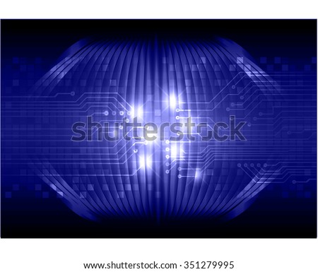 dark blue color Light Abstract Technology background for computer graphic website internet and business. circuit. illustration. digital. infographics. binary code. www. vector.pixel. scan virus