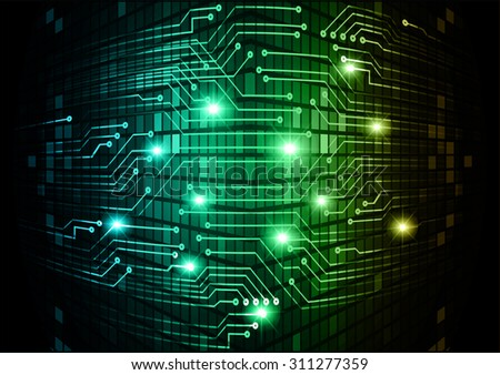 dark blue green orange Light Abstract Technology for computer graphic website internet and business. circuit. illustration. digital. infographics. binary code background. www. vector.one. pixel - stock vector