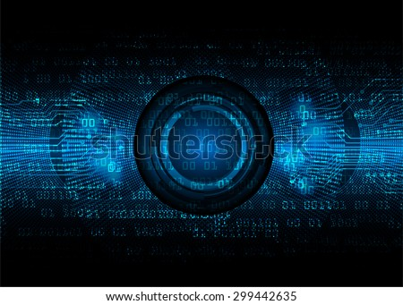 dark blue Light Abstract Technology for computer graphic website internet. circuit.illustration.digital.infographics.binary code background. www. vector.ray beam aura motion move blur. one zero  - stock vector