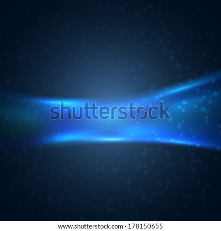 Dark blue modern hi-tech background. Vector illustration