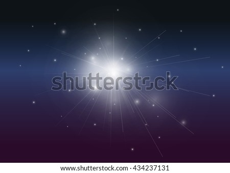 Dark blue pink glowing vector abstract background