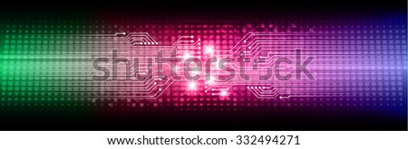 dark blue pink green Light Abstract Technology background for computer graphic website internet business. circuit. illustration. digital. infographics. binary code background.