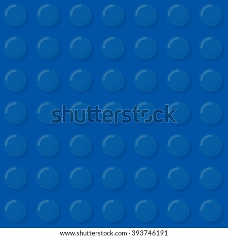 Dark blue plastic bubbles seamless pattern. Vector illustration