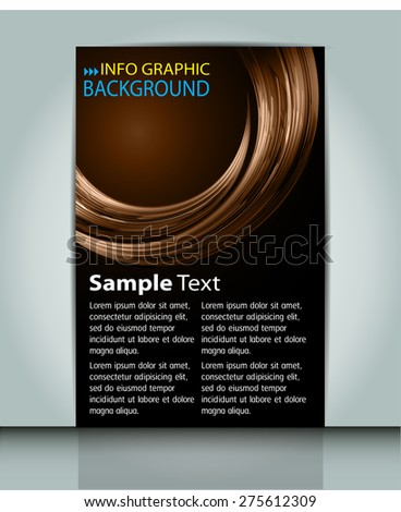 dark brown color Light Abstract Technology background computer graphic website internet business. circuit. vector illustration. text box. Brochure. card. banner flyer magazine. Design label