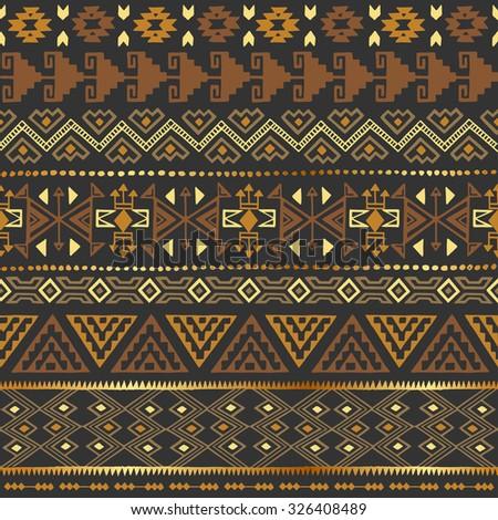 tribal design wallpaper brown - photo #37