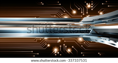 dark brown illustration of technology internet network computer background with binary number, style. infographics. Information. motion blur. pixel. Binary digit. number. vector. silver  - stock vector