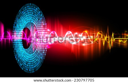 Dark color Light Abstract Technology background for computer graphic website and internet, circuit board.