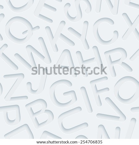 Dark gray 3D perforated paper with cut out effect. Editable EPS10.  - stock vector