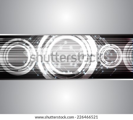 Dark gray Light Abstract Technology background for computer graphic website internet and technology. circuit board.