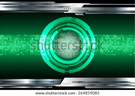 dark green color Light Abstract Technology background for computer graphic website internet and business. circuit. silver background. Pixel, mosaic, table - stock vector