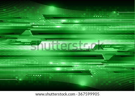 dark green Light Abstract Technology background for computer graphic website internet and business.  - stock vector