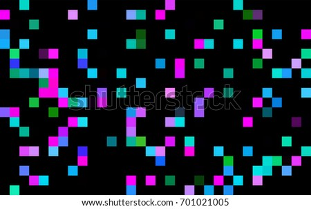 Dark Green vector background of rectangles and squares. Style quilt and blanket. Geometrical rectangular pattern. Repeating pattern with rectangle shapes.