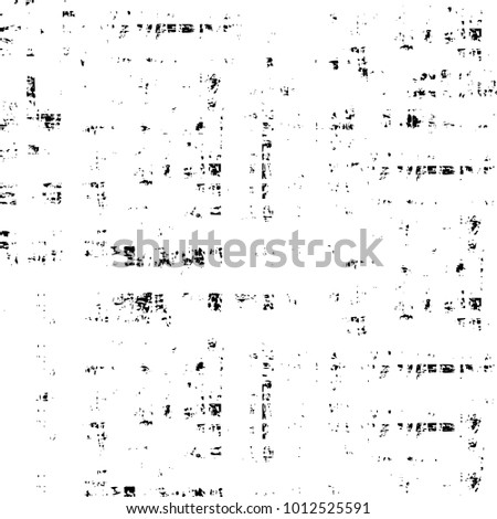Dark Grunge Chaotic Surreal Pattern. Fantasy Abstract Texture Made Of Ink Paint. Monochrome Worn, Scuffed Background. Textile And Fabric Sample Design. Urban Modern Wallpaper. Spotted Backdrop Image