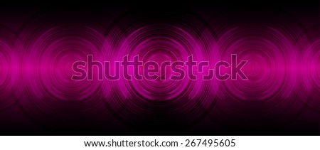dark pink abstract digital sound wave background. Light Technology background for computer graphic website internet. - stock vector