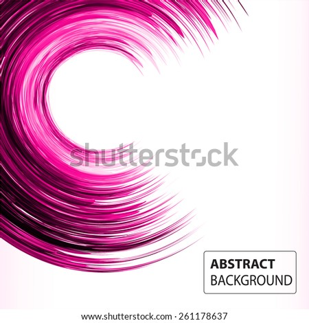 Dark Pink Color Light Abstract Technology Stock Vector 261178637