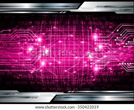dark pink Light Abstract Technology background for computer graphic website internet business. circuit. vector illustration. abstract. infographics. motion move blur.neon. pixel. scan virus