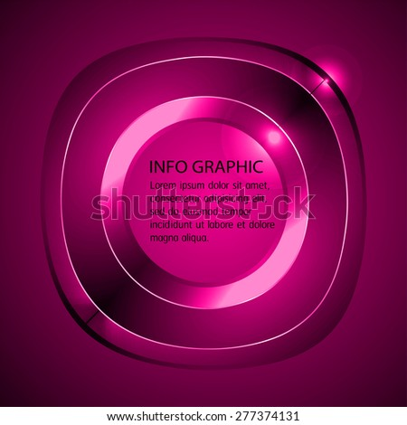 Dark Pink Light Abstract Technology Background Stock ...
