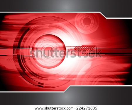 Dark Red Light Abstract Technology background for computer graphic website internet and technology.