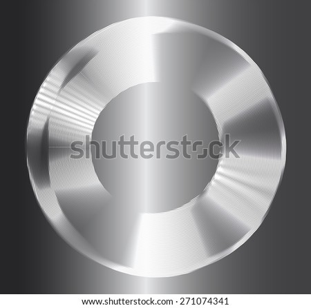 Dark silver circle Light Abstract Technology background for computer graphic website internet business. text box. Brochure. card. Metal, Steel