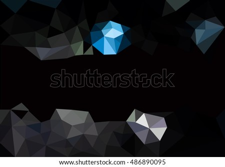 dark triangles abstract background