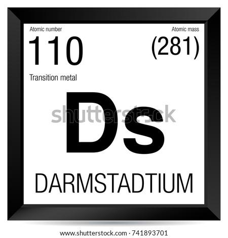 Darmstadtium symbol element number 110 periodic stock photo photo darmstadtium symbol element number 110 of the periodic table of the elements chemistry urtaz Choice Image