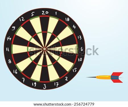 dart - stock vector