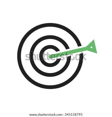 Dart, board, target icon vector image. Can also be used for office. Suitable for web apps, mobile apps and print media.