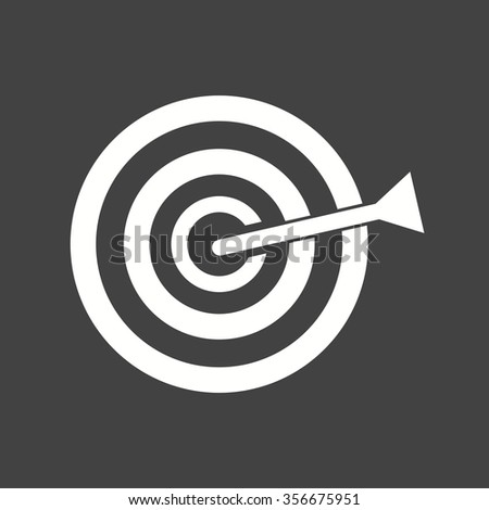 Dart, Board, Target Icon Vector Image. Can Also Be Used For Office.