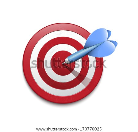 Darts - stock vector